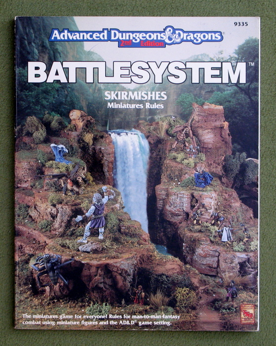 Image for Battlesystem Skirmishes Miniature Rules (Advanced Dungeons & Dragons, 2nd Edition)