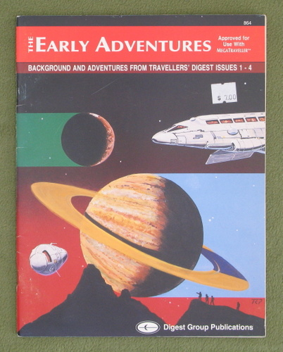 Image for The Early Adventures: Background and Adventures from Travellers' Digest Issues 1-4 (Megatraveller)