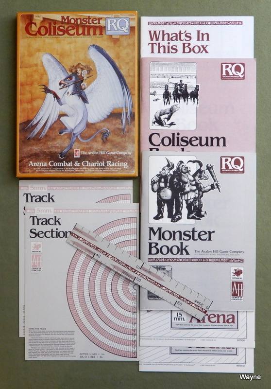 Image for Monster Coliseum: Arena Combat & Chariot Racing (Runequest)