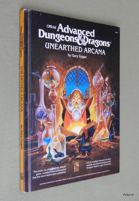Image for Unearthed Arcana (Advanced Dungeons and Dragons)