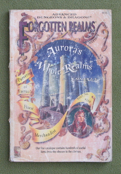 Image for Aurora's Whole Realms Catalog (AD&D: Forgotten Realms) - WORN PLAY COPY