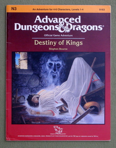 Image for Destiny of Kings (Advanced Dungeons & Dragons Module N3)