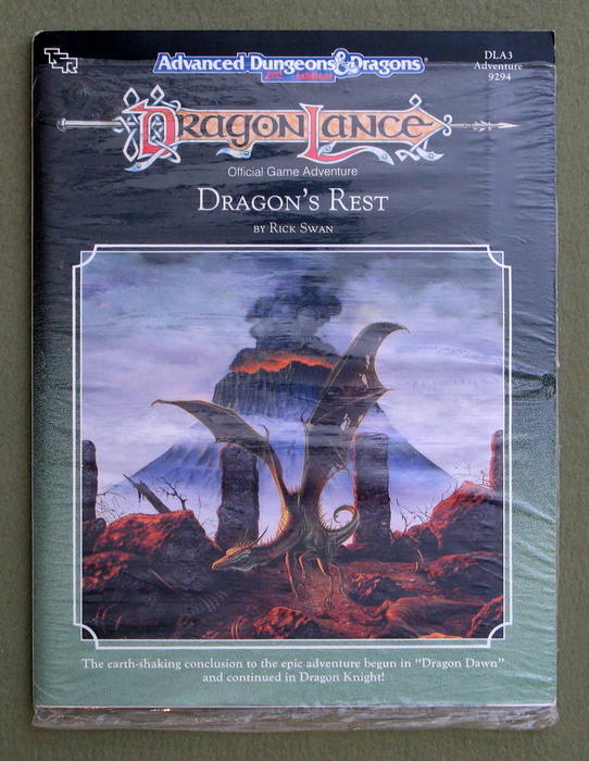 Image for Dragon's Rest (Advanced Dungeons & Dragons: Dragonlance Adventure DLA3)