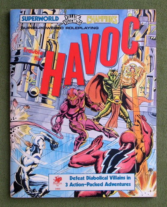 Image for Trouble for Havoc (Superworld / Villains & Vigilantes / Champions)