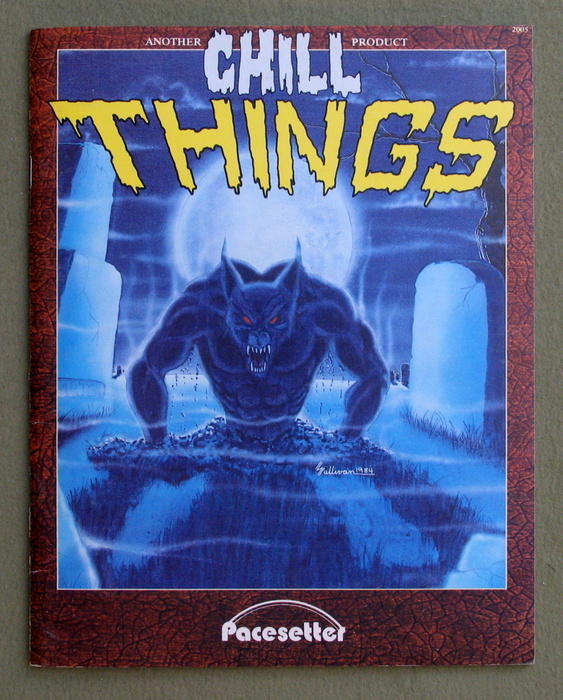 Image for Things (Chill role playing game)