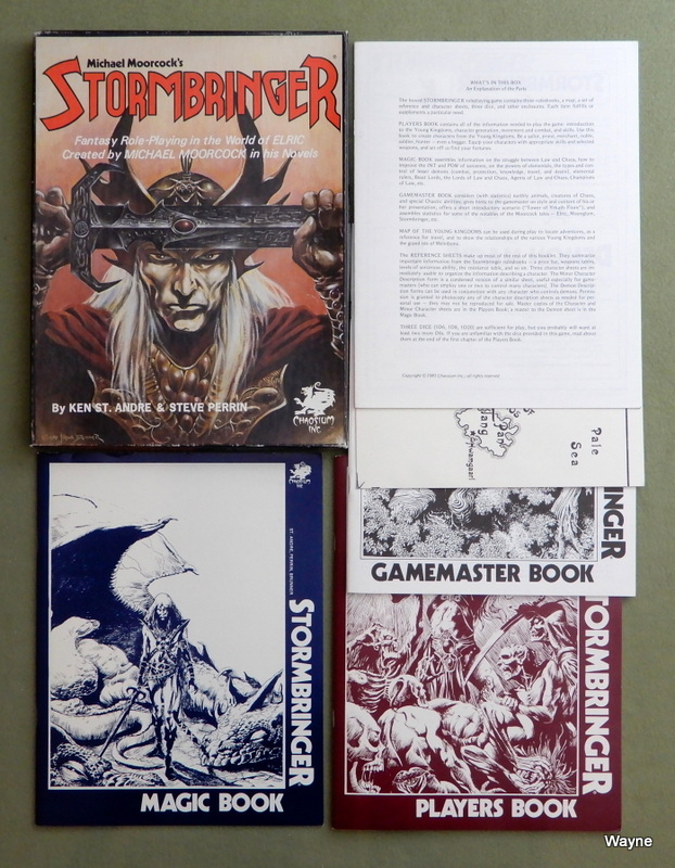 Image for Stormbringer: Fantasy Role-Playing in the World of Elric (1st Edition)