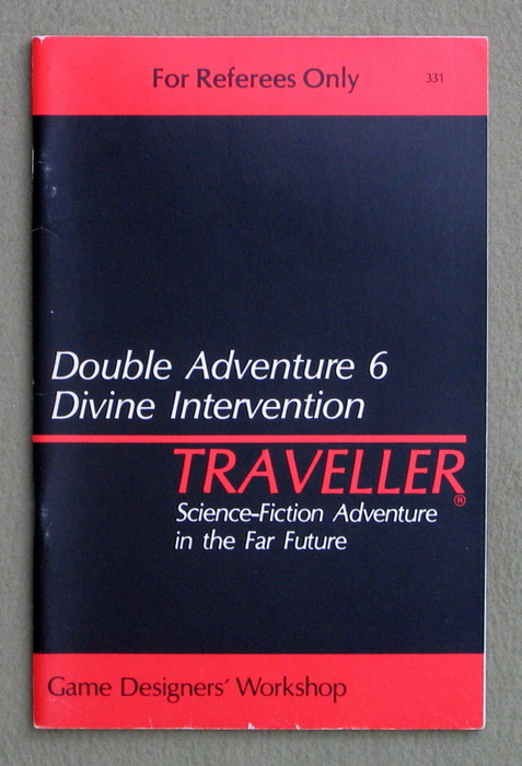 Image for Traveller Double Adventure 6: Divine Intervention / Night of Conquest - 1ST PRINT