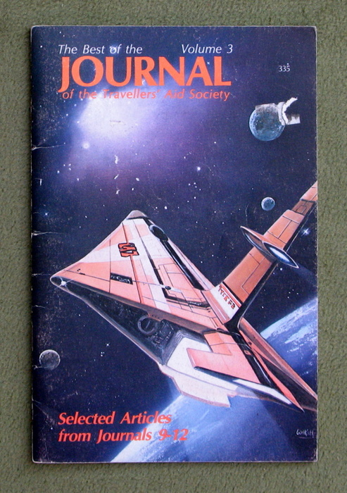 Image for Best of the Journal of the Travellers' Aid Society, Volume 3 (Traveller RPG)