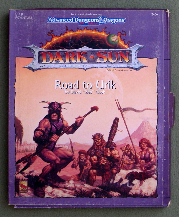 Image for Road to Urik (Advanced Dungeons & Dragons: Dark Sun Adventure DSQ1)