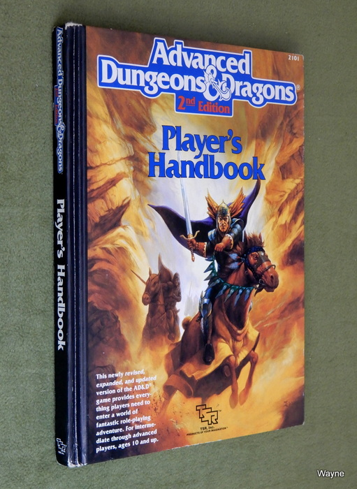 Image for Player's Handbook (Advanced Dungeons & Dragons, 2nd Edition)