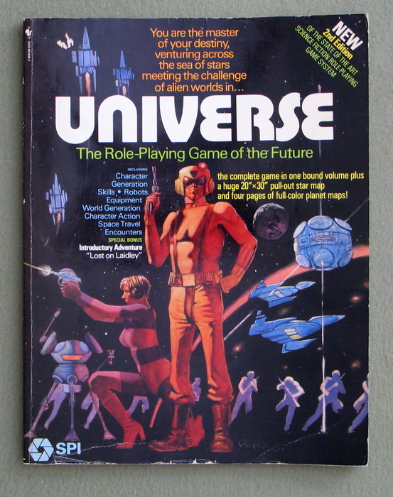 Image for Universe: The Role-Playing Game of the Future (2nd Edition)