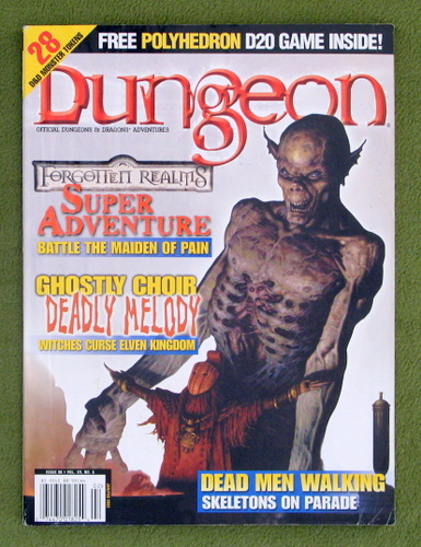 Image for Dungeon Magazine, Issue 90 (Combined with Polyhedron, Flip-style)