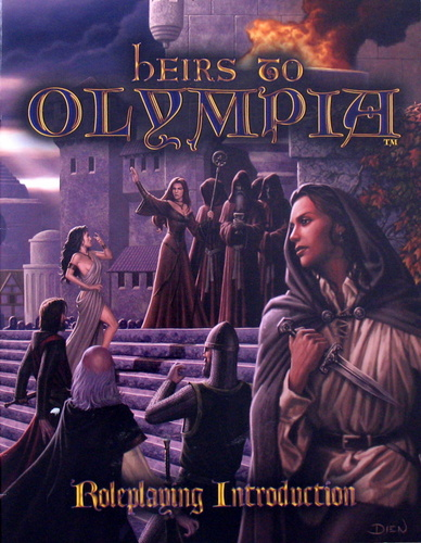 Image for Heirs to Olympia: Roleplaying Introduction - Free RPG Day 2008