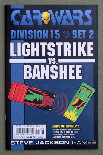 Image for Car Wars Division 15 Set 2: Lightstrike vs. Banshee