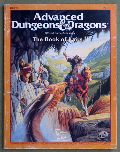 Image for Book of Lairs II (Advanced Dungeons & Dragons Accessory REF4) - PLAY COPY