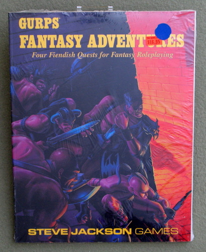 Image for GURPS Fantasy Adventures: Four Fiendish Quests for Fantasy Roleplaying