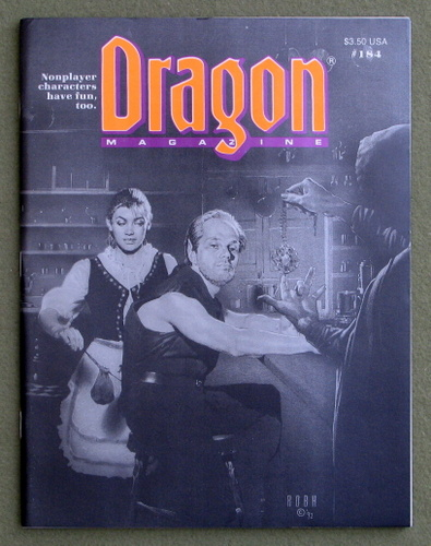 Image for Dragon Magazine, Issue 184