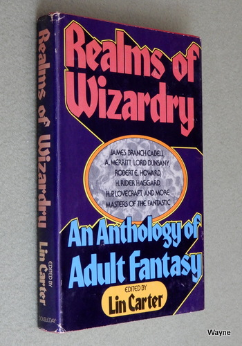 Image for Realms of Wizardry: An Anthology of Adult Fantasy