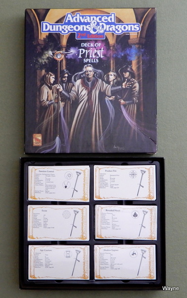 Image for Deck of Priest Spells (Advanced Dungeons & Dragons, 2nd Edition)