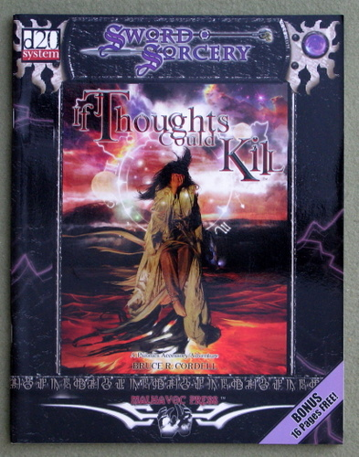 Image for If Thoughts Could Kill: A Psionic Accessory and Adventure (Dungeons & Dragons: D20 system)