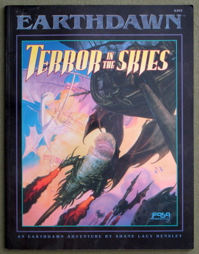 Image for Terror in the Skies (Earthdawn)