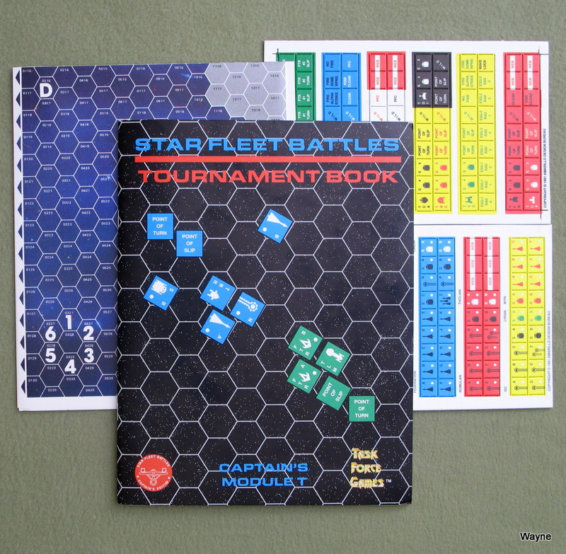 Image for Tournament Book: Captain's Module T (Star Fleet Battles)