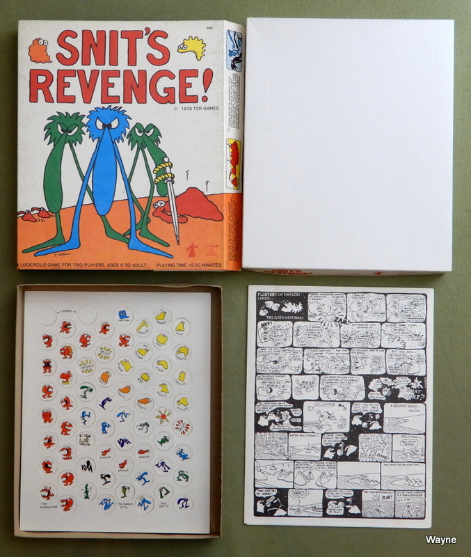 Image for Snit's Revenge, 1st Edition - WRAPAROUND GAME BOARD