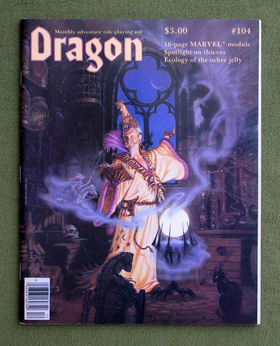 Image for Dragon Magazine, Issue 104
