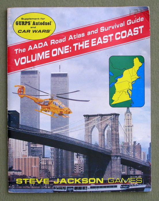 Image for The AADA Road Atlas and Survival Guide, Volume One: The East Coast (GURPS Autoduel/Car Wars)