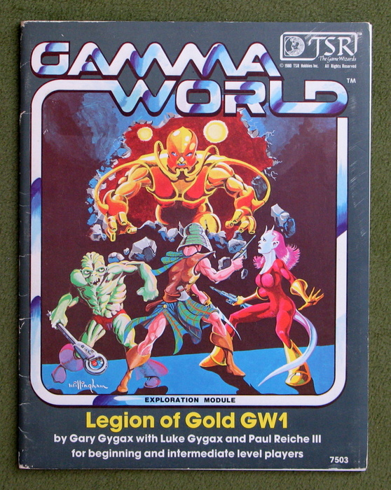 Image for Legion of Gold (Gamma World Module GW1)