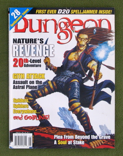 Image for Dungeon Magazine, Issue 92 (Combined with Polyhedron, Issue 151)