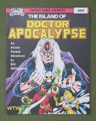 Image for The Island of Doctor Apocalypse (Villains and Vigilantes)