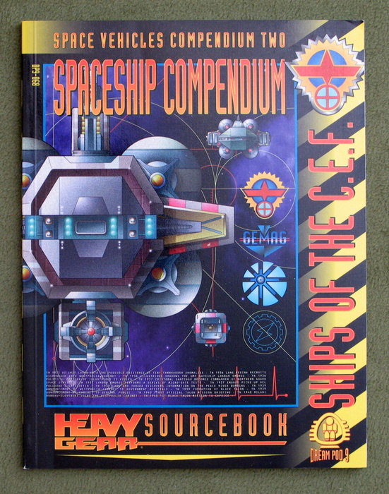 Image for Ships of the C.E.F. - Spaceship Compendium: Space Vehicles Compendium 2 (Heavy Gear)