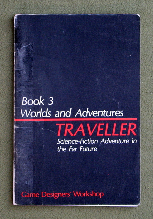 Image for Traveller: Book 3 - Worlds and Adventures - PLAY COPY