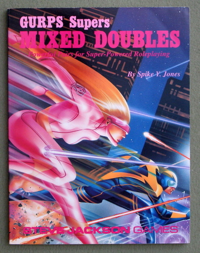 Image for GURPS Mixed Doubles: Powerful Pairs for Super-Powered Roleplaying (GURPS Supers)