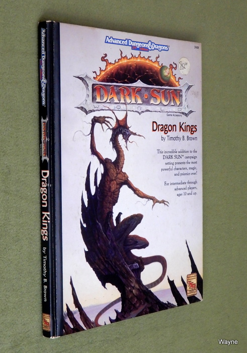 Image for Dragon Kings (Advanced Dungeons & Dragons: Dark Sun)
