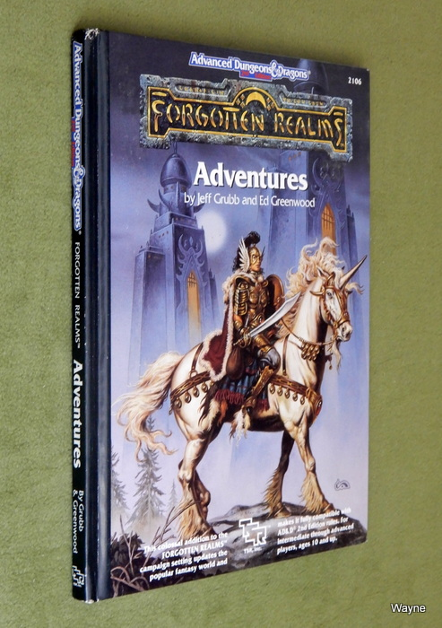 Image for Forgotten Realms Adventures (Advanced Dungeons and Dragons Hardcover Accessory Rulebook)