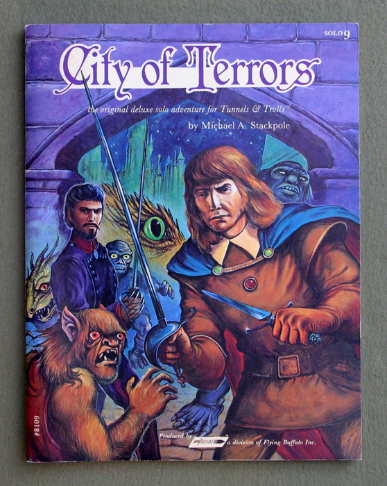 Image for City of Terrors: The Original Solitaire Adventure for Tunnels & Trolls (Solo 9)