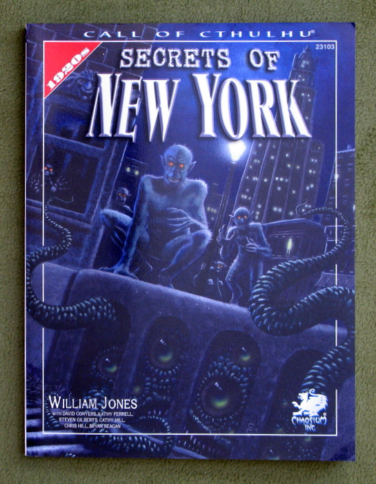 Image for Secrets of New York: A Mythos Guide to the City That Never Sleeps (Call of Cthulhu Horror Roleplaying)