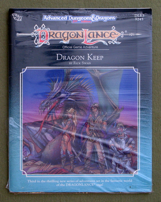 Image for Dragon Keep (Advanced Dungeons and Dragons: Dragonlance Module DLE3)