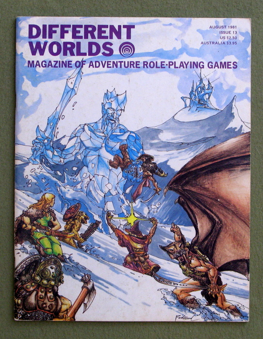 Image for Different Worlds Magazine, Issue 13