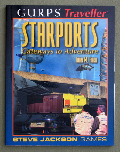 Image for Starports: Gateways to Adventure (GURPS Traveller)