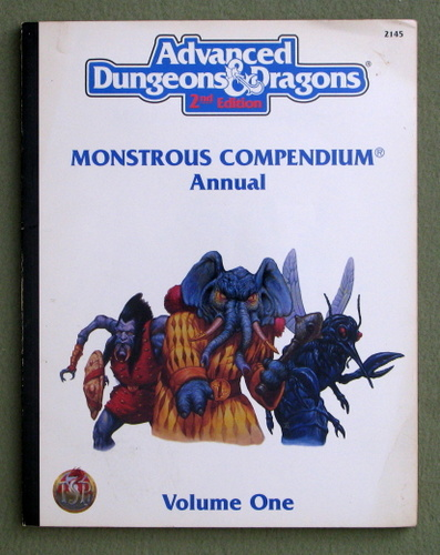 Image for Monstrous Compendium Annual, Vol. 1 (Advanced Dungeons & Dragons, 2nd Edition)