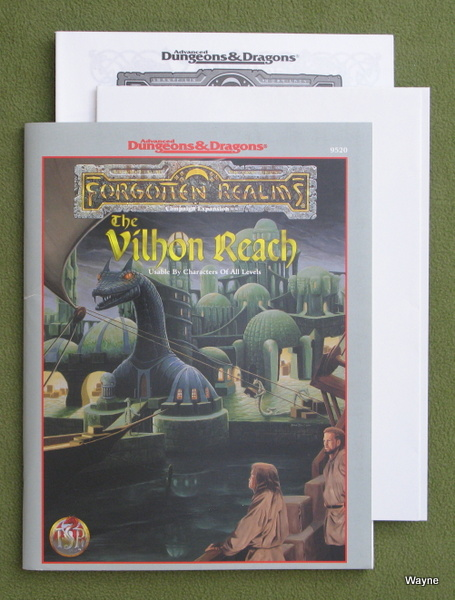 Image for Vilhon Reach (Advanced Dungeons & Dragons: Forgotten Realms)