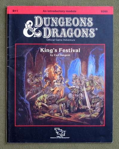 Image for King's Festival (Dungeons and Dragons Module B11)