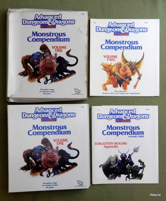 Image for Monstrous Compendium, Vol. 1 (Advanced Dungeons and Dragons, 2nd Edition)