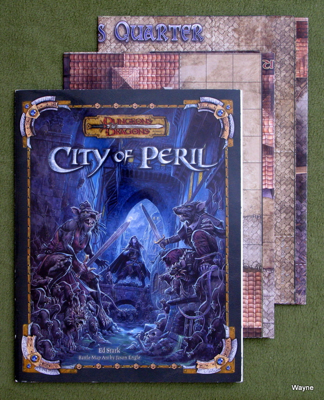 Image for City of Peril (Dungeons & Dragons d20 3.5 Accessory)
