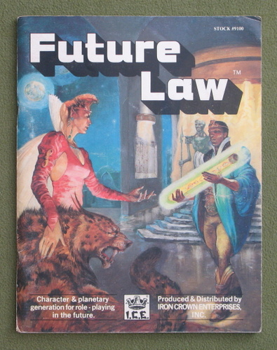 Image for Future Law: Character & Planetary Generation for Role-Playing in the Future