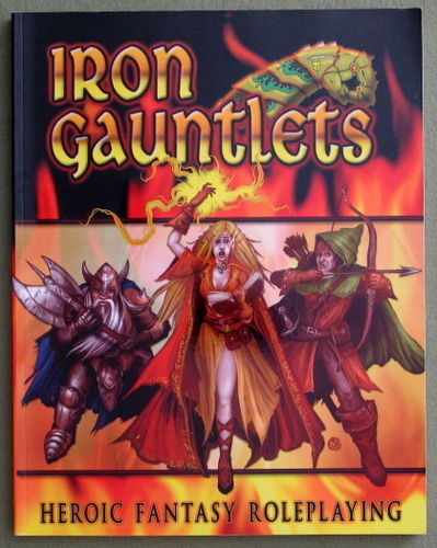 Image for Iron Gauntlets: Heroic Fantasy Roleplaying