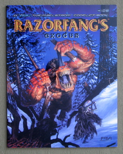 Image for Razorfang's Exodus (Vor: The Maelstrom Conflict Book)